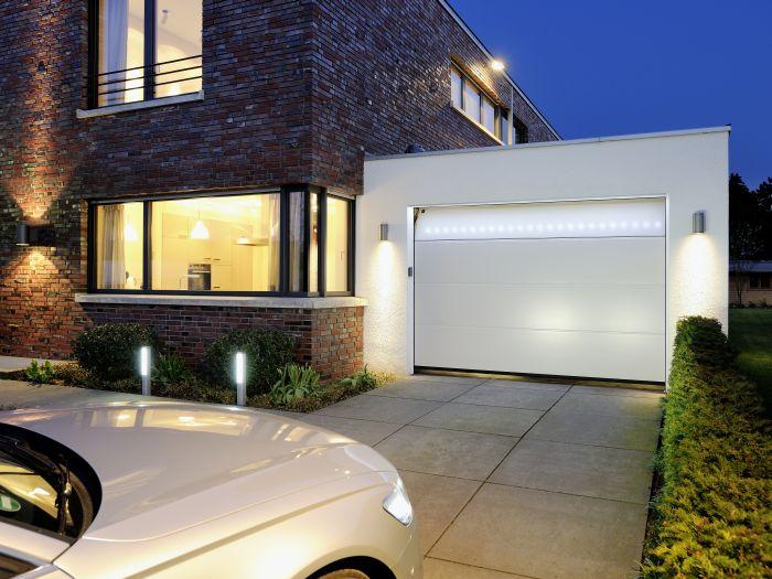 Hausbautipps24 Led Technik An Der Einfahrt Und Am Garagentor