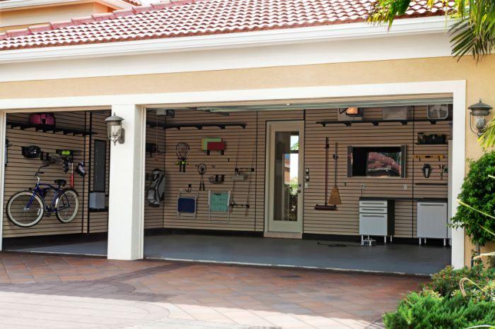 hausbautipps24 die garage als gesch tzter parkplatz und lagerraum. Black Bedroom Furniture Sets. Home Design Ideas