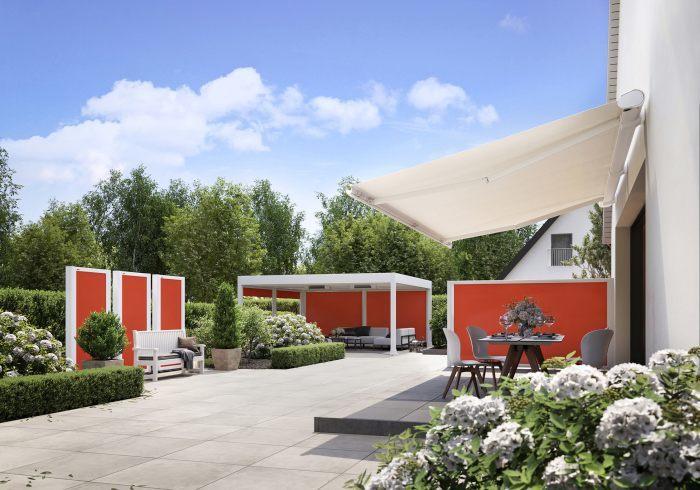 Hausbautipps24 Neuer Wind Und Sichtschutz Für Die