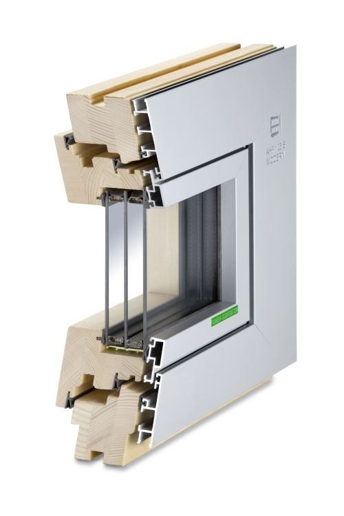 Hausbautipps24 neues aluminium holz fenster ahf 105s von for Holz aluminium fenster