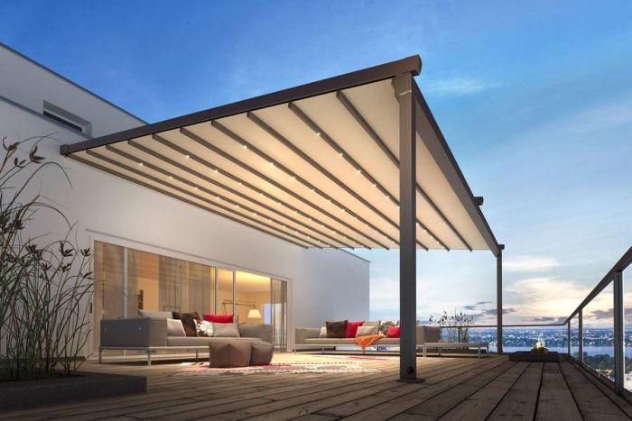 Hausbautipps24 - Der Aktuellste Sonnenschutz - Pergola-Markisen