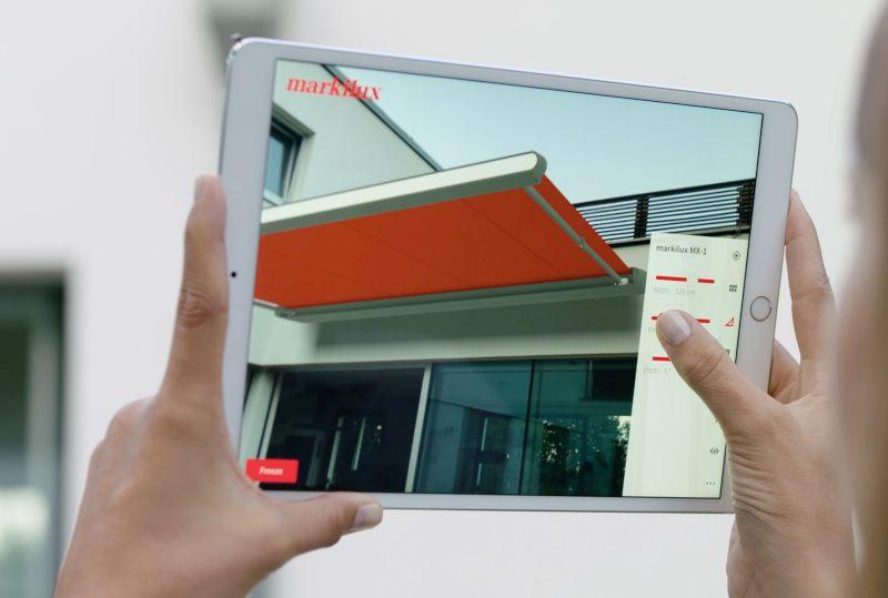 008e81f2e40001 Markisen virtuell ausprobieren - Neue 3D Augmented Reality App von markilux  erleichtert den Markisenkauf