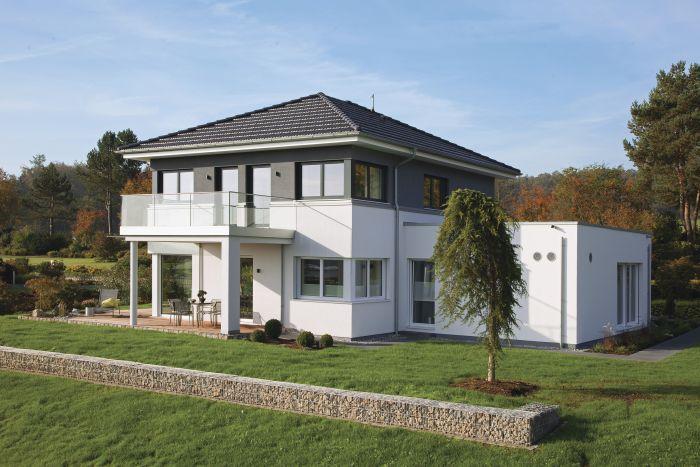 Stadtvilla modern mit anbau  Hausbautipps24 - Die exklusive Stadtvilla - neu erfunden