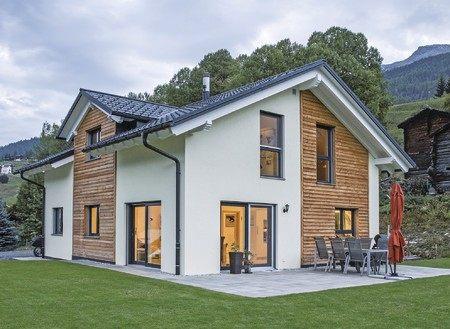 ein fertighaus von weberhaus in den schweizer alpen. Black Bedroom Furniture Sets. Home Design Ideas