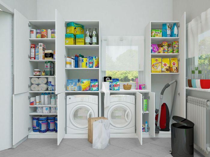 hausbautipps24 tipps zur verwendung von vorratsschr nken. Black Bedroom Furniture Sets. Home Design Ideas