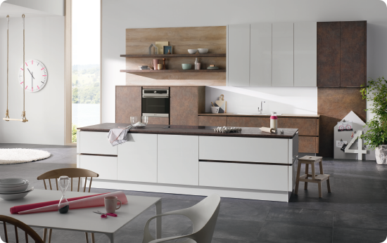 Große Küchen für kleine Räume
