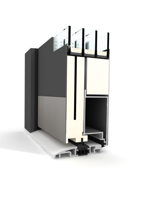hausbautipps24 neue aluminium haust r von internorm. Black Bedroom Furniture Sets. Home Design Ideas