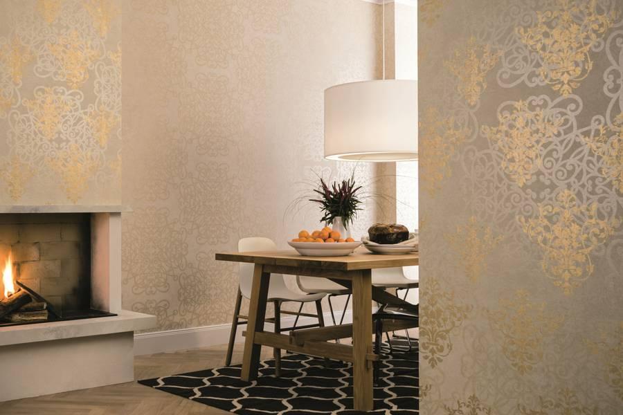 Mediterrane Farben und Designs für Tapeten ohne PVC und ...