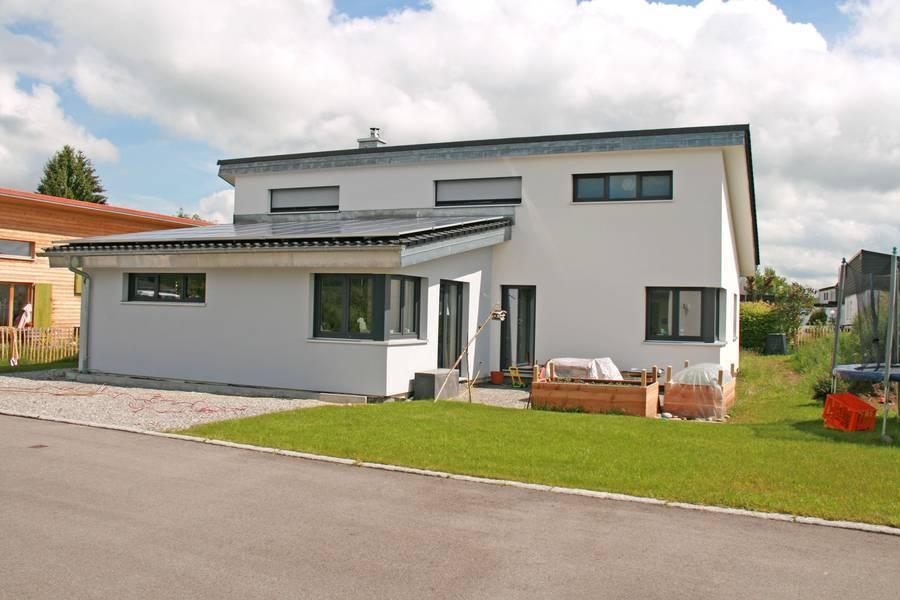 Bekannt Einfamilienhaus im Stahl-Leichtbau passt sich den Lebensumständen RZ59